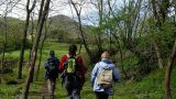 On foot in La Garrotxa