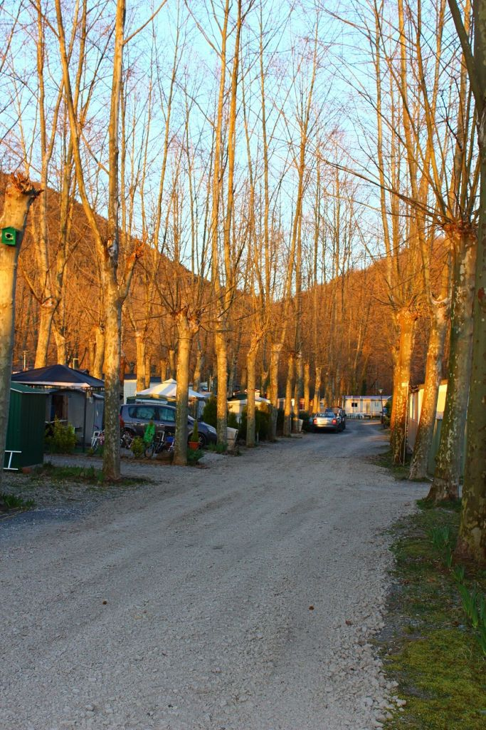 Les Tries campsite