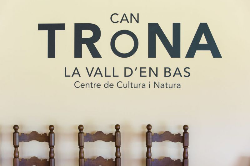 Can Trona. Center of Culture and Nature of la Vall d'en Bas.