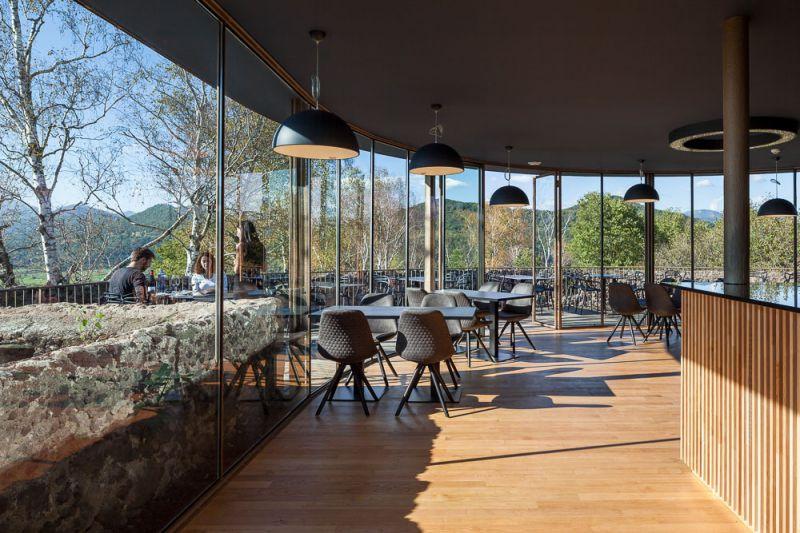 Restaurant El Fortí del volcà Montsacopa